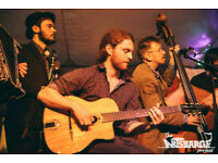 Double bass player wanted for acoustic busking/gigging project