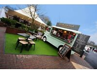 Barista / catering assistant for shakamaka and the dog house, based at the designer outlet