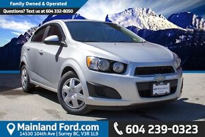 2013 Chevrolet Sonic LS Auto LOCAL, NO ACCIDENTS