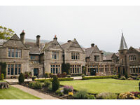 SOUS CHEF WANTED at SIMONSTONE HALL HOTEL. (Full-time, live-in, great pay!)