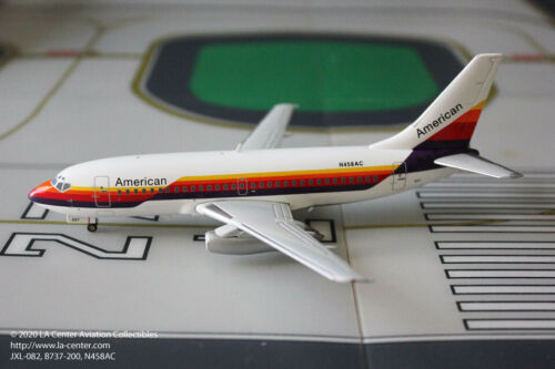 Jet-X American Airlines Boeing 737-200 AirCal Transition Diecast Model 1:200