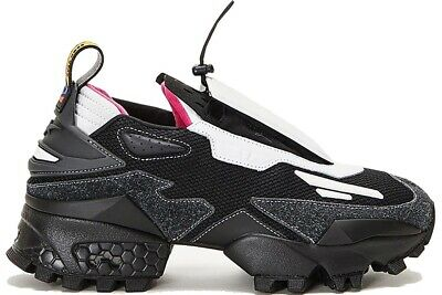Pyer Moss Reebok 9.5 M Shoes Experiment 4 Trail Fury Innocence Project Black