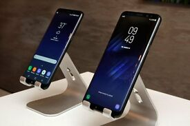 NEW Sealed with Warranty Samsung Galaxy S8 64gb & Plus in Midnight Black & Orchid Gray - Unlocked