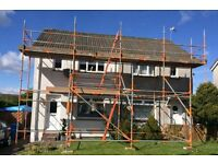 Glasgow Scaffolding Contractors offering a reliable, safe and affordable scaffolding service.