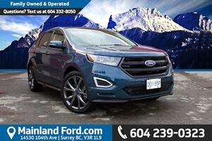 2016 Ford Edge Sport VERY LOW KM'S, NO ACCIDENTS, LOCAL