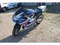 Suzuki GSXR 600 K3 03 **Very low Mileage** + Extras ono