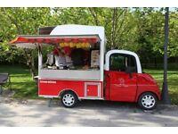 Food trailer catering van - Hotdog crepes sandwiches