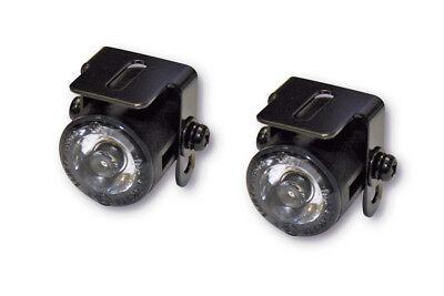 Mini universal LED Tagfahrlicht Standlicht Positionslicht DRL Motorrad E-geprüft