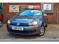 2010 (60) Volkswagen Golf Estate, 1.6 Diesel, 12 Months MOT & 3 Months RAC warranty As Standard!!