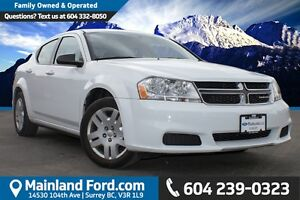 2013 Dodge Avenger LOW KM'S NO ACCIDENTS, LOCAL