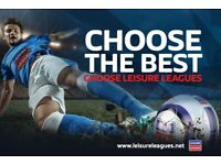 NEW 6 A SIDE FOOTBALL LEAGUE IN GUILDFORD