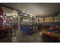 Cook needed part-time in award winning Stepney Green pub