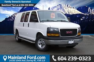 2015 GMC Savana 2500 1WT LOCAL, NO ACCIDENTS, ONE OWNER