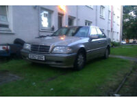 1998 Mercedes c240 Elegance 2.4 Auto 114k petrol, this car has been nowhere for her age, sound car