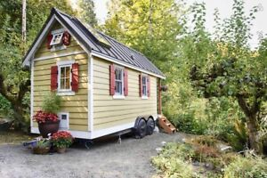 Tiny house available in the woods beside the Saugeen River
