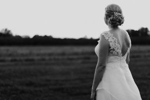 Tea-length Wedding Dress - True size 14/16