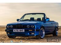 E30 318i 2.5 m20 Neon blue design edition LSD convertible SEE DESCRIPTION