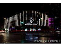 F&B Floor Attendant required for The Grosvenor Victoria Casino on Edgware Road
