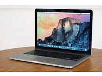 "Apple Mac Retina Display 13"" 2.4Ghz Core i5 8GB 250SSD Izotope Mastering QuarkXpress Final Cut Pro X"