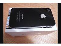 iPhone 4s 16gb black excellent condition!!