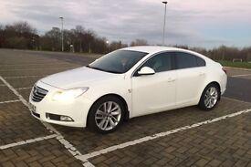 2012 62 Vauxhall Insignia 2.0 cdti sri brilliant white