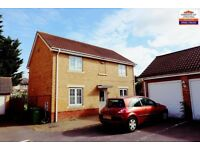 Reduced ***4 Bedroom Detached house to rent, close to leagrave station ,NO DSS £1395 PM