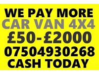 📞 07504 930268 WANTED CAR VAN MOTORCYCLE EVEN SCRAP BUY YOUR SELL MY FAST LONDON Wt2