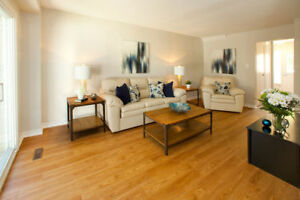 Renovated 3-bedroom townhouse in Barrie