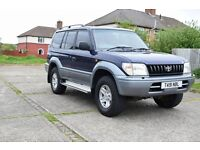Toyota Land Cruiser Colorado 4x4 WD 2982cc Diesel Automatic 7 seater Bargain...Clean Motor