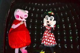 Peppa Pig and Star Wars and Reindeer Santa