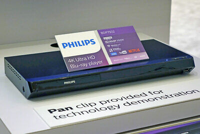 Philips 4K UHD Dolby Vision Blu-ray Player w/ Built-in Wireless LAN (BDP7502)