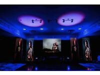 LED Screen/Video wall, Dance floor & Lighting hire. DJ