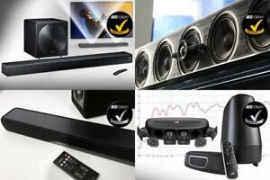 "Soundbars LG, Samsung, Polk, Klipsch with Wireless Subwoofers ""SEE IN FOR PRICES"" *$70 & UP*"