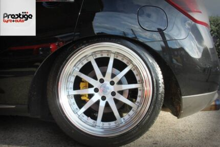 2x 20x10 Work Gnosis GS1 rims only (Tyres can be included for extra) Epping Ryde Area Preview