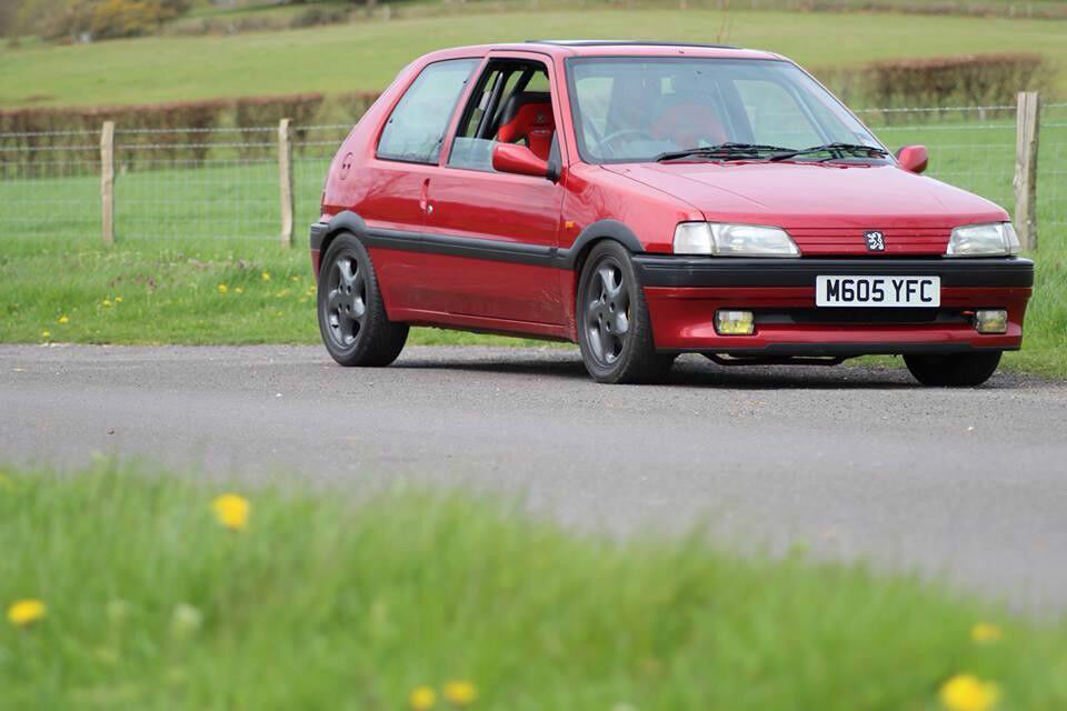 peugeot 106 xsi 1995 16v gti converted fast road/track car   in