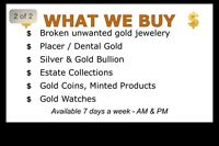 Need cash ? Sell your gold 24 hrs aday