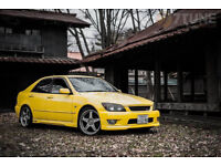 Super yellow II Toyota Altezza RS200 Z-Edition 3SGE BEAMS lightly modified