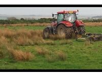 Field cutting and rolling wanted.