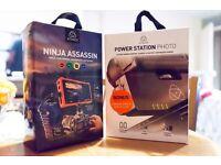 Atomos Ninja Assassin 4K monitor/recorder and Atomos Power Bank