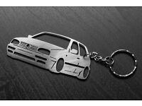 VW Volkswagen golf 3 keychain tdi td keychain MK3
