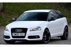 Audi A3 black edition s line 2.0 TDI 3dr