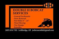 Double H bobcat Services / landscaping / excavation