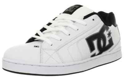 Dc Shoes Net  White Battleship White Skate Shoes Mens Size 8 D M  Us