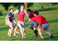 Looking for ladies for tag rugby team on Mondays