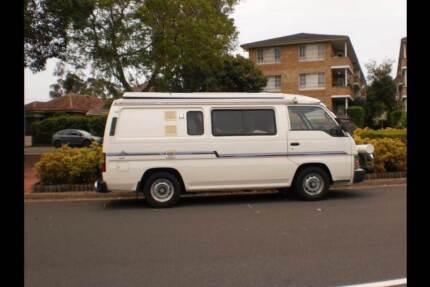 Nissan URVAN campervan 1990 Diesel POP TOP Double Bay Eastern Suburbs Preview