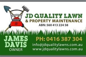 JD QUALITY LAWN AND PROPERTY MAINTENANCE Swansea Lake Macquarie Area Preview