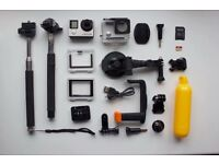 GoPro Hero 4 Silver FULL STARTER PACK