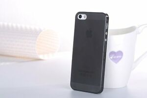 Ultra Thin 0.3mm Slim Skin Back Case Cover Black Matte For Apple iPhone 5s SE