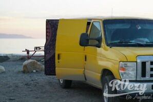 2008 Ford E-250 extended cargo van (Rent  RVs, Motorhomes, T