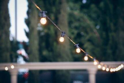 FOR HIRE - AMBIENT FESTOON LIGHTING